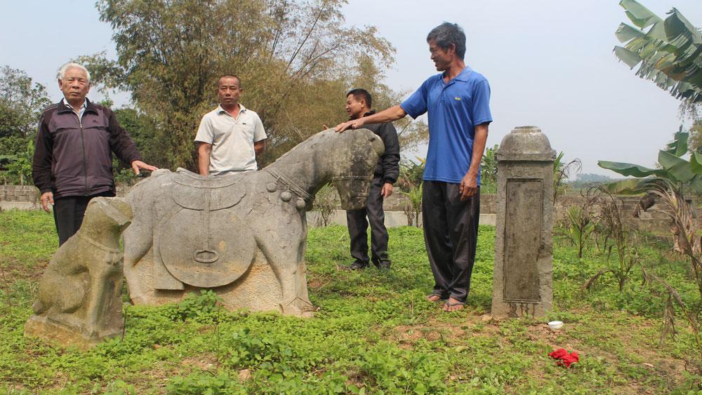 Bắc Giang: Cổ kính lăng Sợi Chỉ