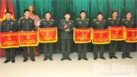 Bộ CHQS tỉnh Bắc Giang: Trao 7 giải A tại Hội thi sáng kiến, cải tiến mô hình học cụ huấn luyện năm 2020
