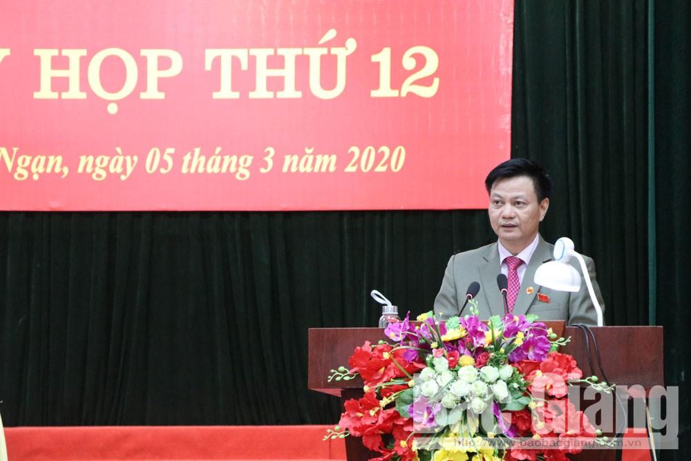 Lục Ngạn, La Văn Nam, chủ tịch huyện Lục Ngạn