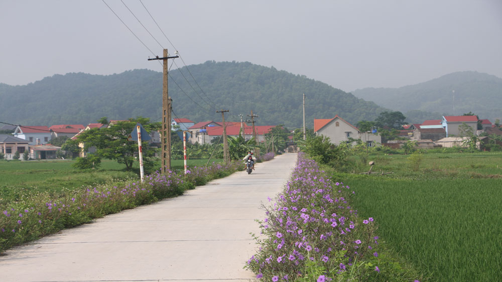Bac Giang province,  bright-green-clean-beautiful roads, International Women's Day, 110th anniversary,  Women's Union