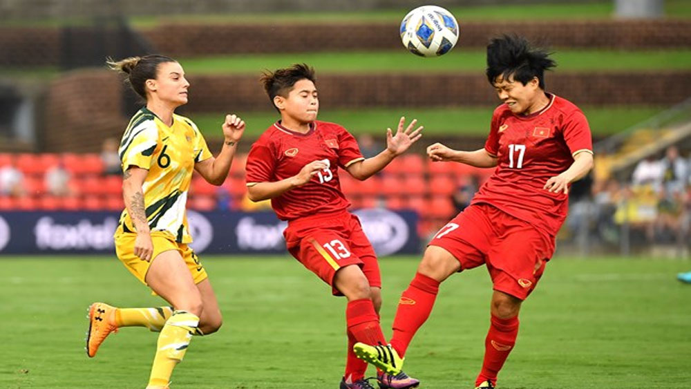 Women's football, Vietnam, Australia, Olympic play-off, Vietnam national women's team, Asian qualification play-off