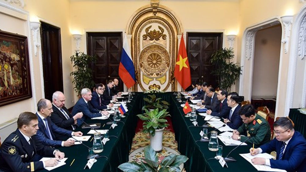 Vietnam, Russia, bilateral ties, regional and international issues, strategic dialogue, comprehensive strategic partnership