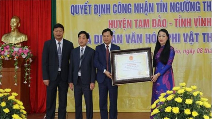 Worship of National Mother in Vinh Phuc recognised as national intangible cultural heritage