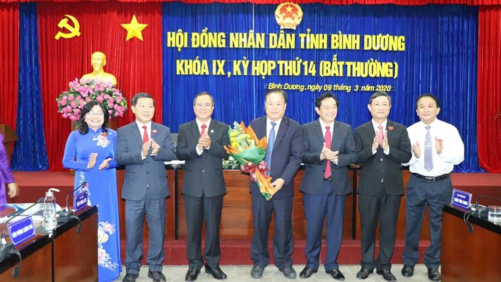 Ông Hồ Quang Điệp được bầu giữ chức Phó Chủ tịch UBND tỉnh Bình Dương
