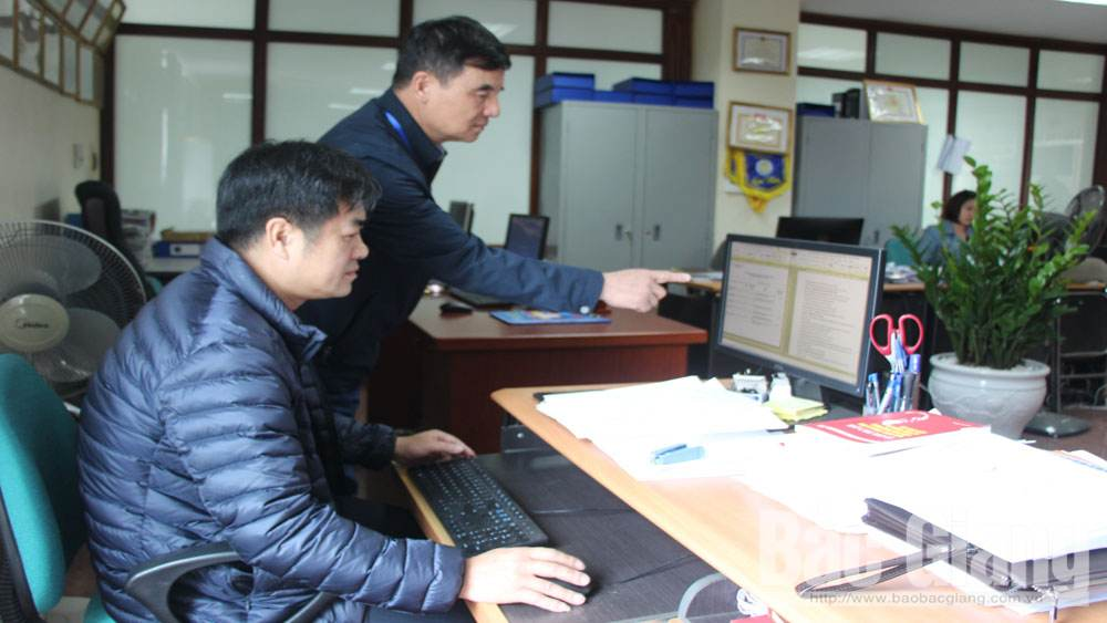 Bac Giang province, electronic tax balance, favorable conditions, corporate income tax balance sheets, electronic payment methods