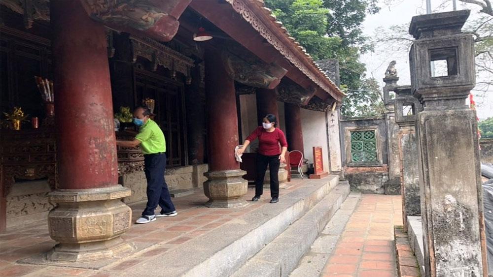 Khu Di tích lịch sử - văn hóa Cố đô Hoa Lư tạm thời dừng đón khách