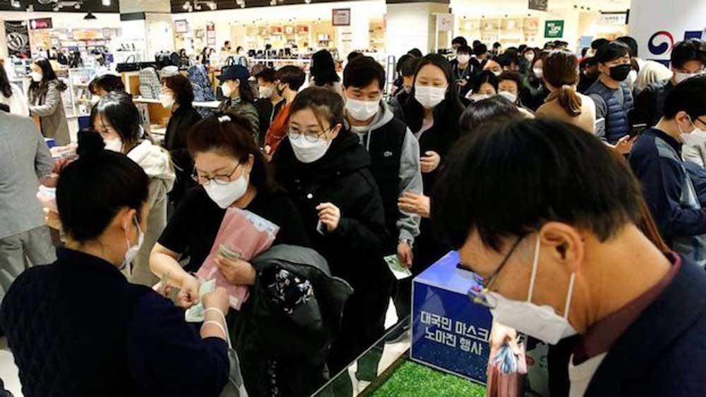 Hàn Quốc ra mắt ứng dụng số cung cấp khẩu trang
