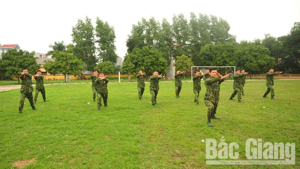 Lực lượng vũ trang tỉnh Bắc Giang: Bám sát thao trường,  thi đua huấn luyện giỏi
