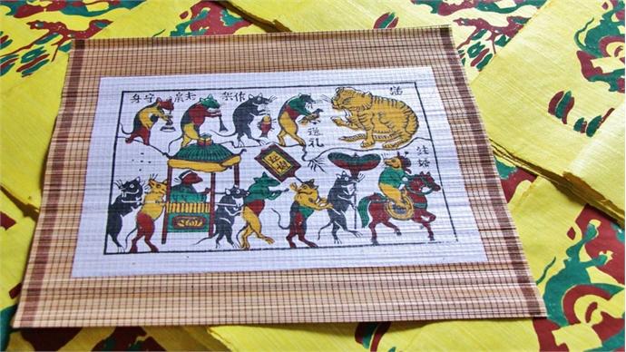 Bac Ninh completes dossier on Dong Ho folk painting genre
