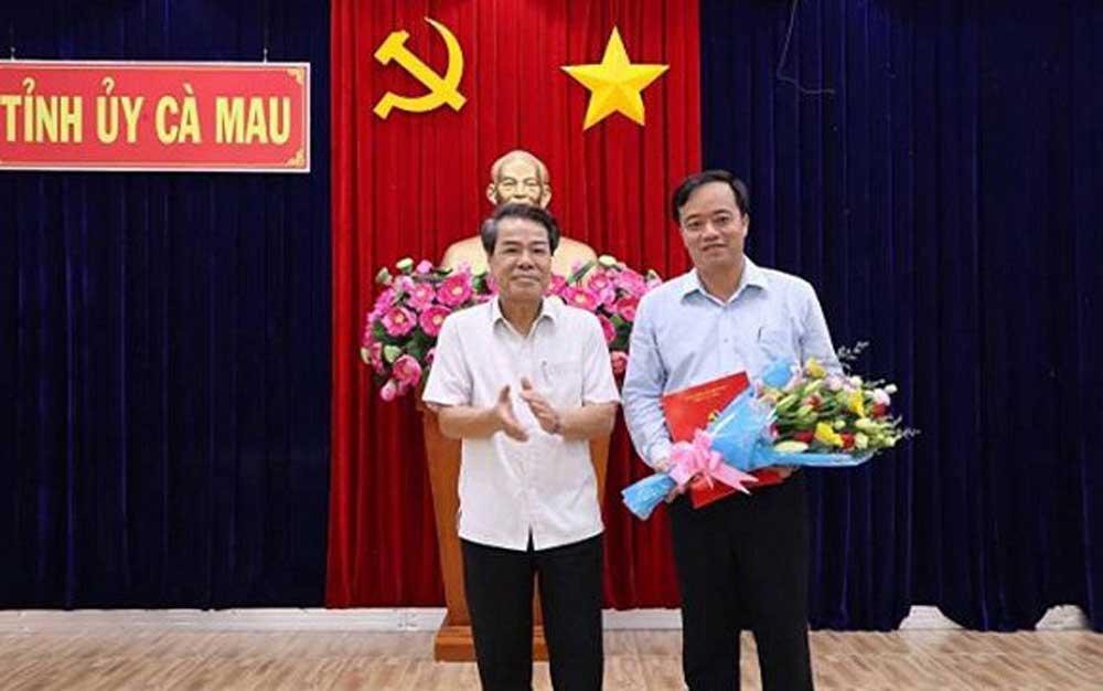 Ban Bí thư, công tác cán bộ, Tỉnh ủy Cà Mau, Tỉnh ủy Quảng Ninh, Chủ nhiệm Ủy ban Kiểm tra