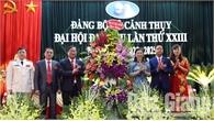 Cảnh Thụy - Xã đầu tiên của tỉnh Bắc Giang tổ chức đại hội đảng bộ