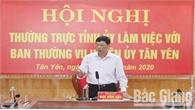Tân Yên tập trung lãnh đạo đạt huyện chuẩn nông thôn mới và tổ chức thành công đại hội đảng các cấp