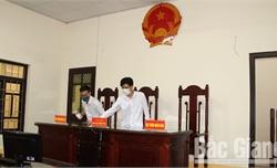 Bắc Giang: TAND hai cấp tạm dừng nhận đơn và tiếp công dân