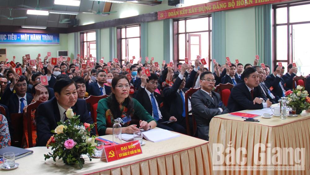 Đảng bộ, Công ty, Điện lực, Bắc Giang, tổ chức, Đại hội, lần thứ XVI