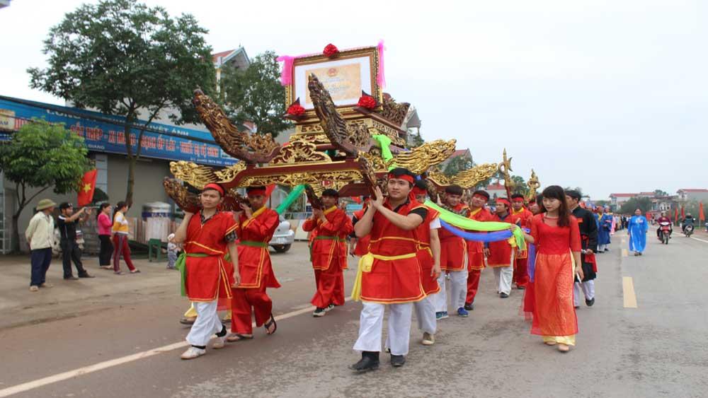Nghi lễ rước tưởng nhớ Hán Quận công Thân Công Tài.