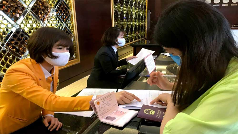 Đề nghị kiểm tra khai báo y tế du lịch tại các cơ sở lưu trú trên toàn quốc