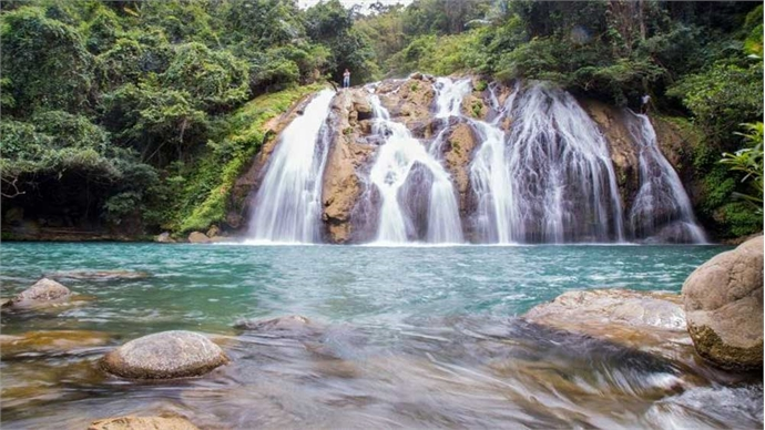 35-meter-tall waterfall, a hidden charm in Quang Tri