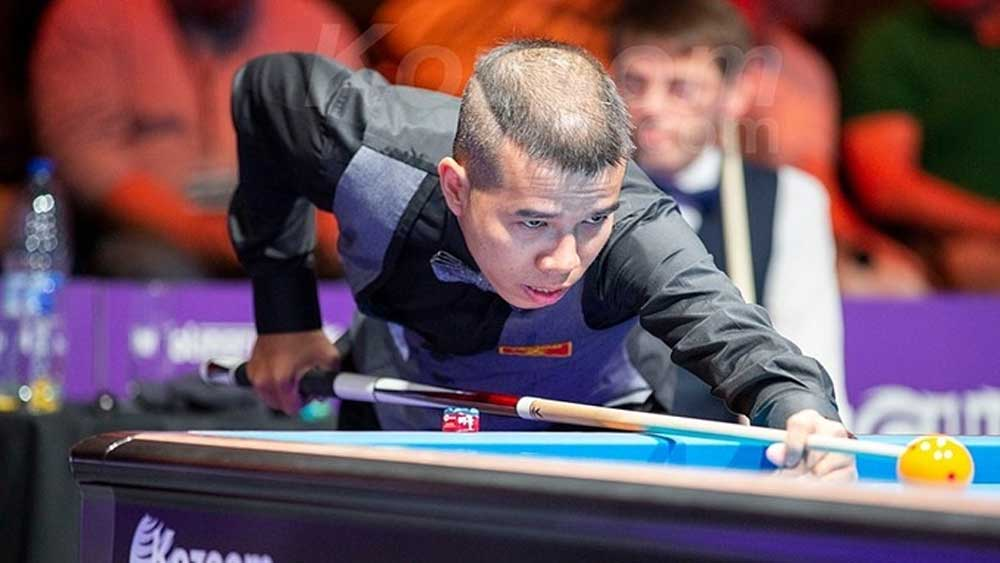 Vietnam's world top 7 cueist advances to McCreery champs in US