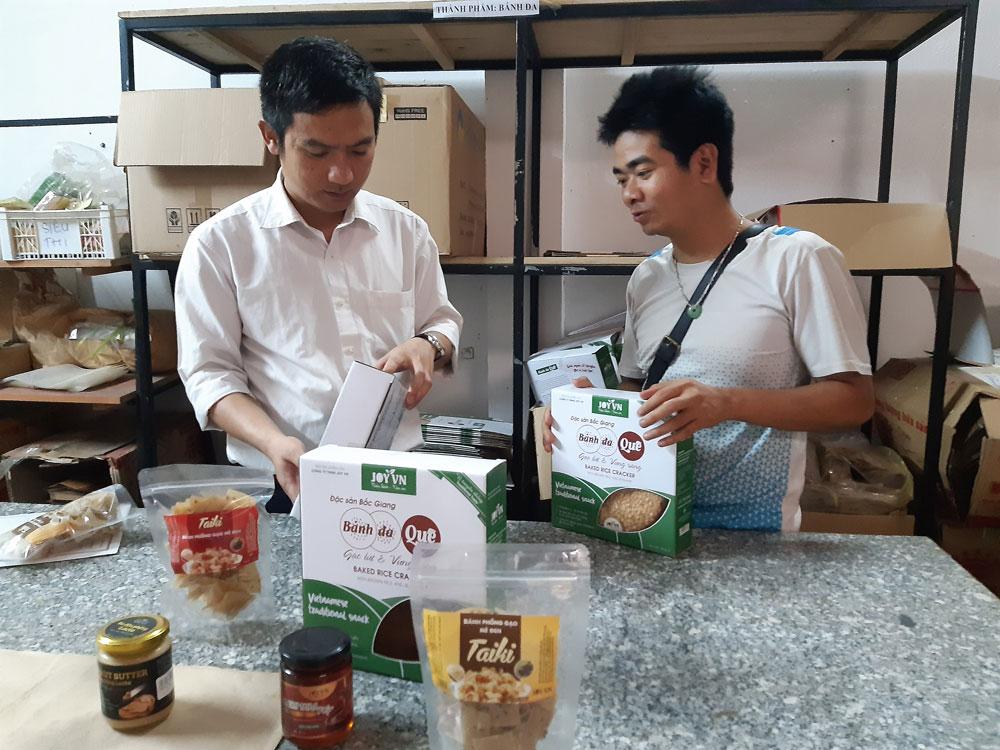 Thực hiện, Chương trình mỗi xã một sản phẩm, Việt Yên, Ưu tiên, sản phẩm mới