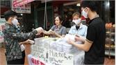 Lục Ngạn mở điểm bán khẩu trang vải kháng khuẩn phục vụ nhân dân