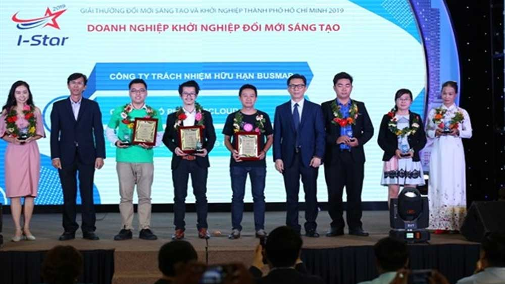 Ho Chi Minh City, innovation awards, innovation and startup awards, startup activities, awards ceremony