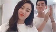 """Tiến Linh và bạn gái xinh đẹp cover """"Ghen Cô Vy"""""""