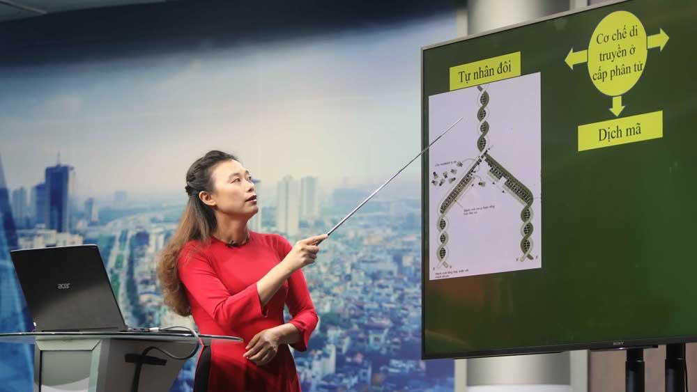 Từ 19/3 triển khai chương trình dạy học trên truyền hình cho học sinh Hà Nội