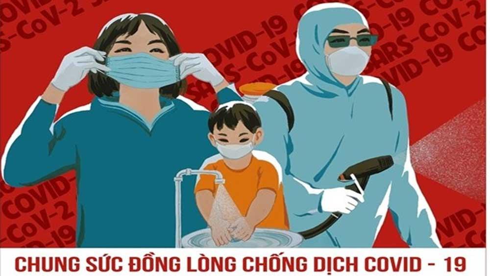 Họa sĩ Việt hào hứng vẽ tranh cổ động phòng, chống dịch covid-19
