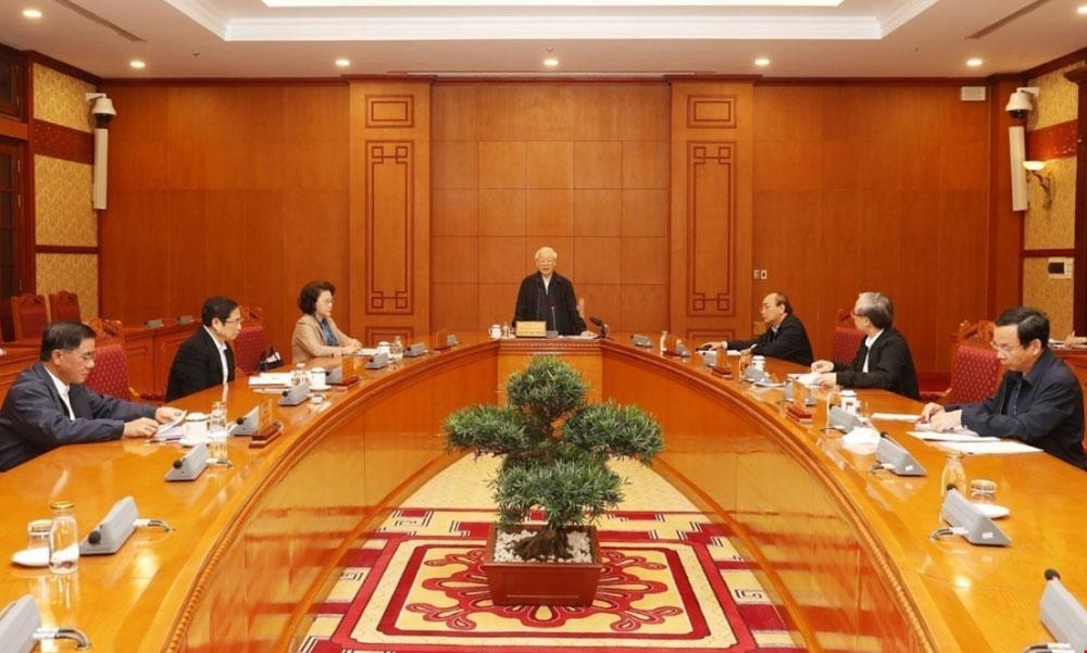Tổng Bí thư, Chủ tịch nước, Nguyễn Phú Trọng, Đại hội XIII của Đảng, Tiểu ban Nhân sự