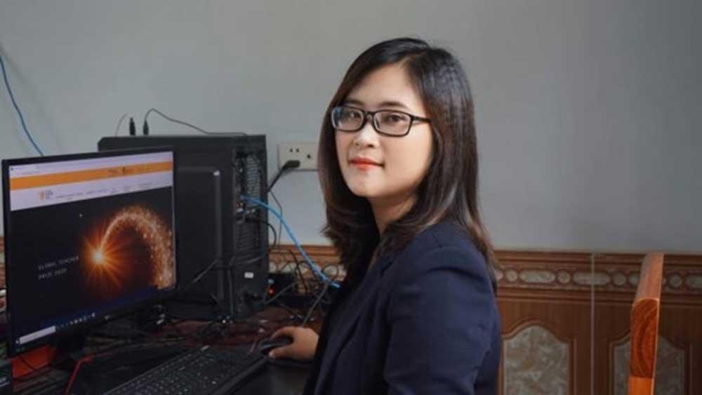 Phu Tho's teacher, global teacher, letter of congratulations, high school teacher, 50 Finalists, Ha Anh Phuong