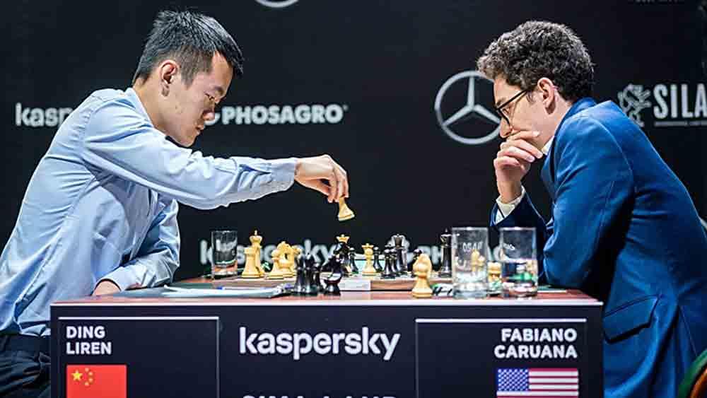 Đinh Lập Nhân, Caruana cờ vua, Candidates, Candidates 2020