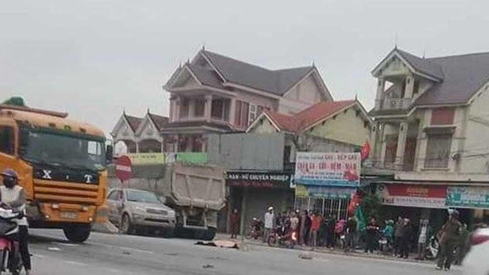 Xe tải, gây tai nạn liên hoàn, nữ sinh tử vong tại chỗ, tỉnh Nghệ An, tình trạng nguy kịch