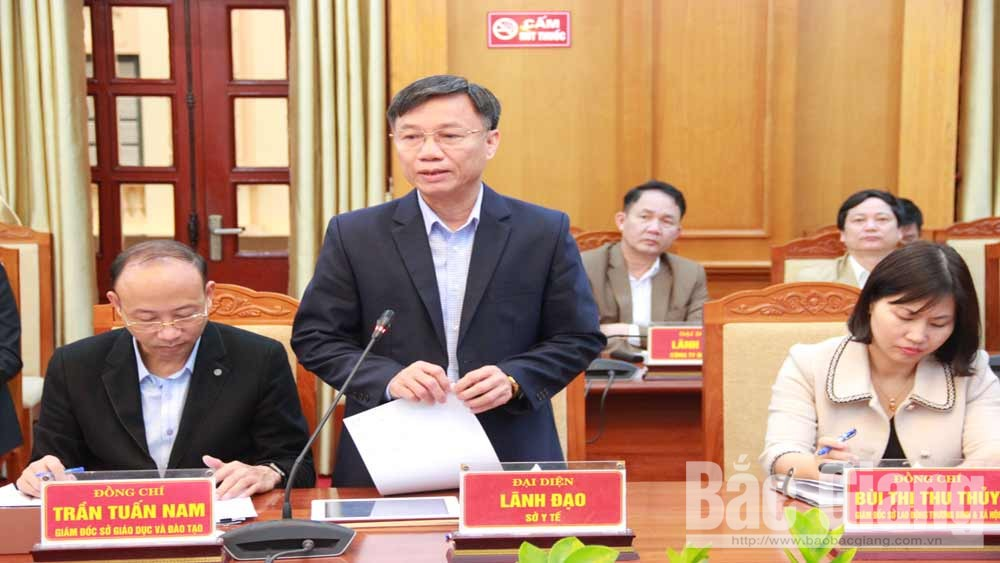 PPC Chairman, Duong Van Thai, boost production, enterprises' obstacles, Bac Giang province, socio-economic situation, Covid-19