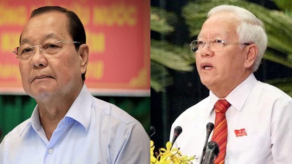 Bộ Chính trị, Ban Bí thư cách chức Bí thư Thành ủy TP Hồ Chí Minh nhiệm kỳ 2010 - 2015 đối với ông Lê Thanh Hải