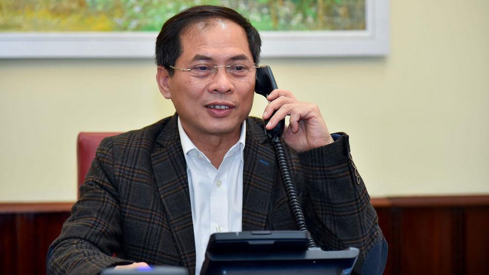 Việt Nam đề nghị Mỹ và các nước phối hợp, chia sẻ thông tin chống dịch