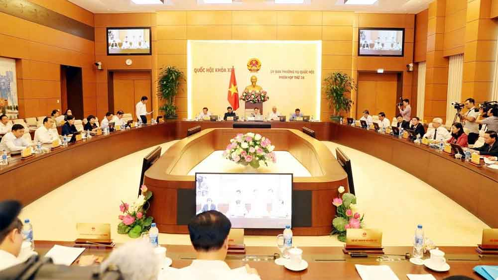 Ngày 23/3, khai mạc phiên họp thứ 43 của Ủy ban Thường vụ Quốc hội khóa XIV