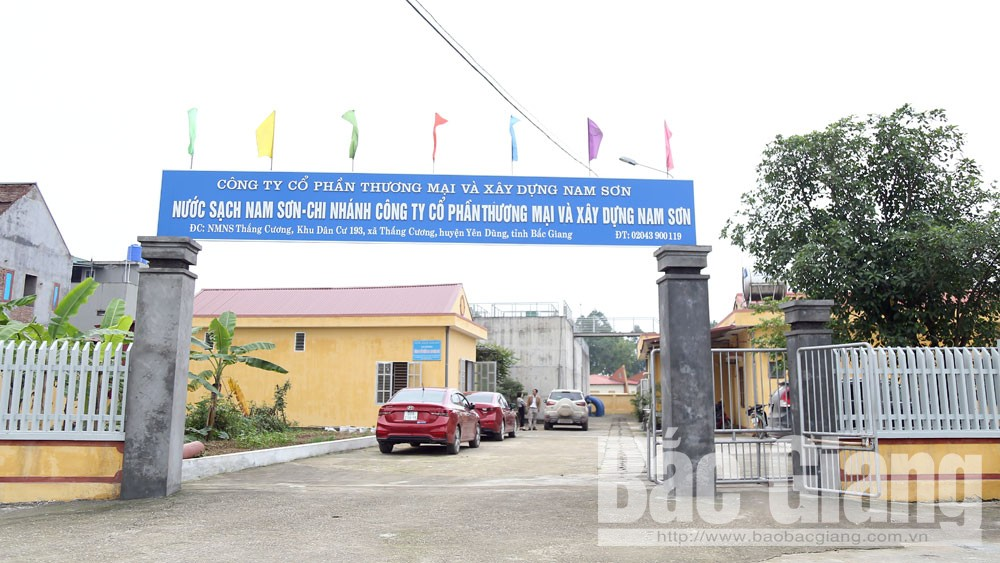 Yên Dũng, Công ty Nam Sơn, khắc phục, sự cố nước bẩn