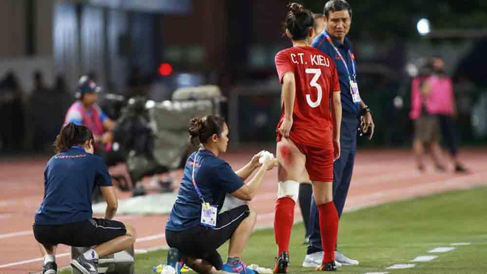 Covid-19, Chương Thị Kiều, Chương Thị Kiều giải nghệ bóng đá nữ ĐT nữ Việt Nam.
