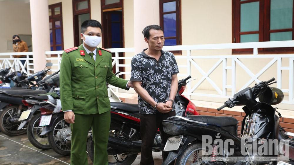 tội phạm, Bắc Giang, ma túy, tiền án, tiền sự
