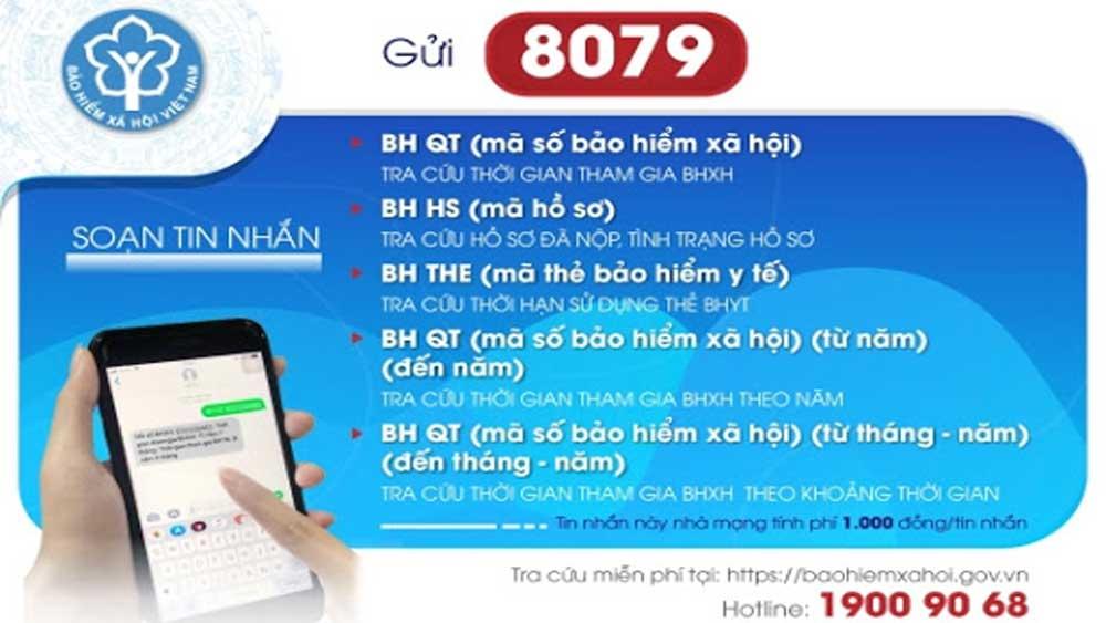 Bảo hiểm xã hội Việt Nam, chia sẻ cơ sở dữ liệu, công tác khai báo y tế, phòng chống dịch Covid-19, mã số bảo hiểm xã hội, nhắn tin
