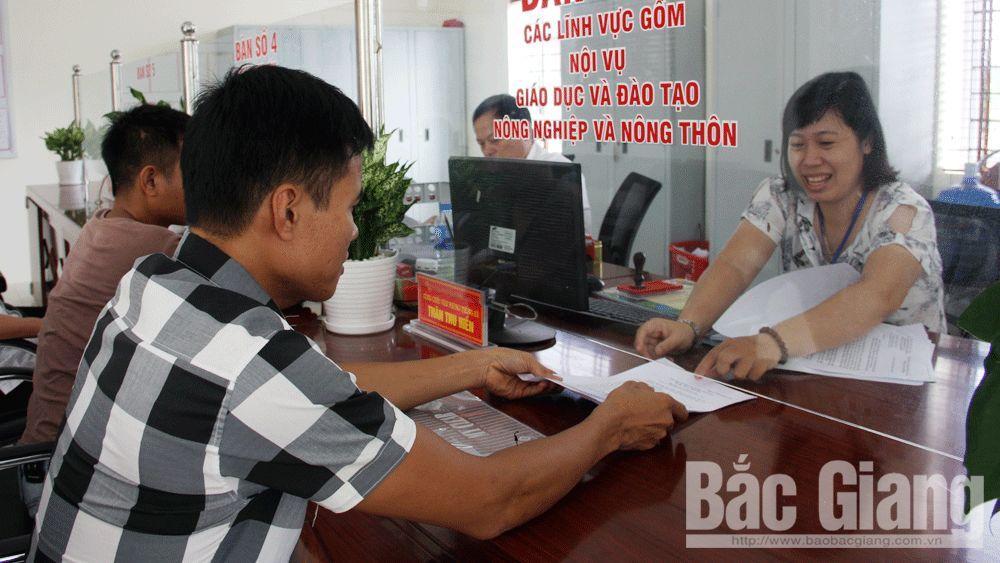 Chỉ số hài lòng, công bố, huyện Việt Yên