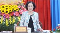 Đoàn công tác Ban Bí thư Trung ương Đảng làm việc tại An Giang
