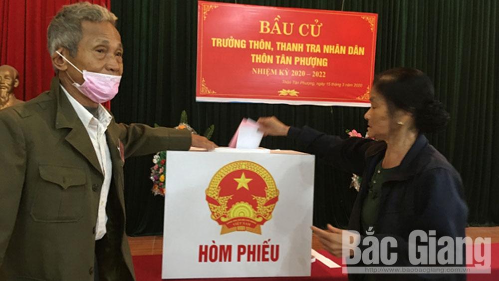 TP Bắc Giang: Hoàn thành bầu cử trưởng thôn, tổ trưởng tổ dân phố trước 26/4