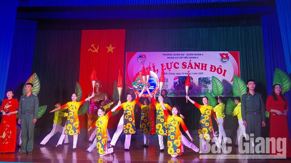 """Trường Quân sự (Quân đoàn 2) tổ chức cuộc thi """"Trí lực sánh đôi"""""""