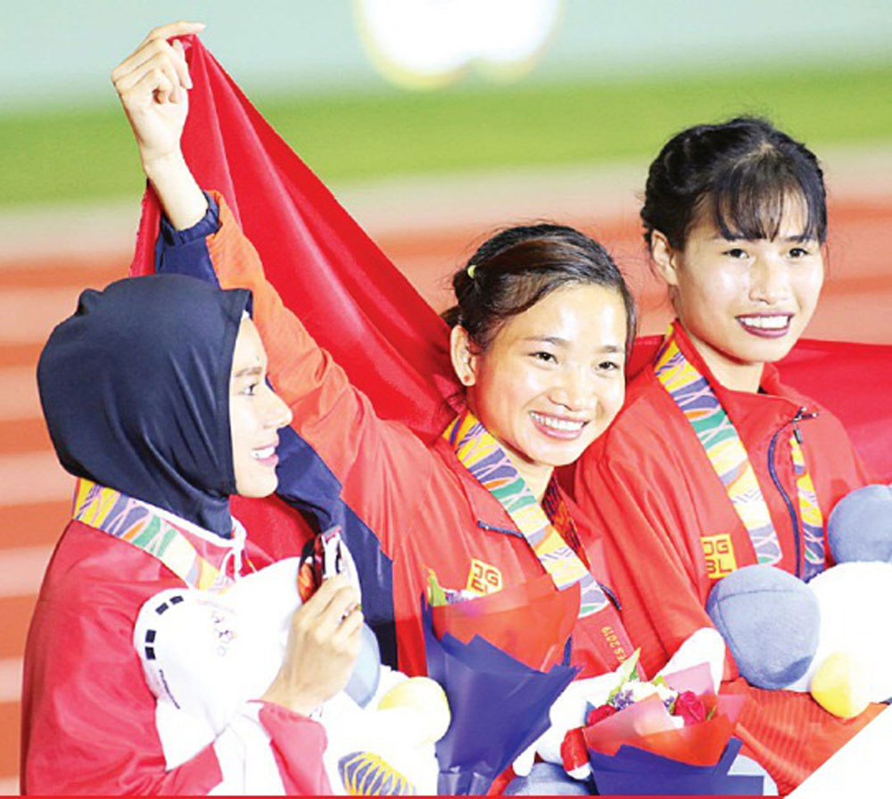 Bac Giang- native althlete, Nguyen Thi Oanh, track and field, Vietnamese outstanding young face, Bac Giang province,