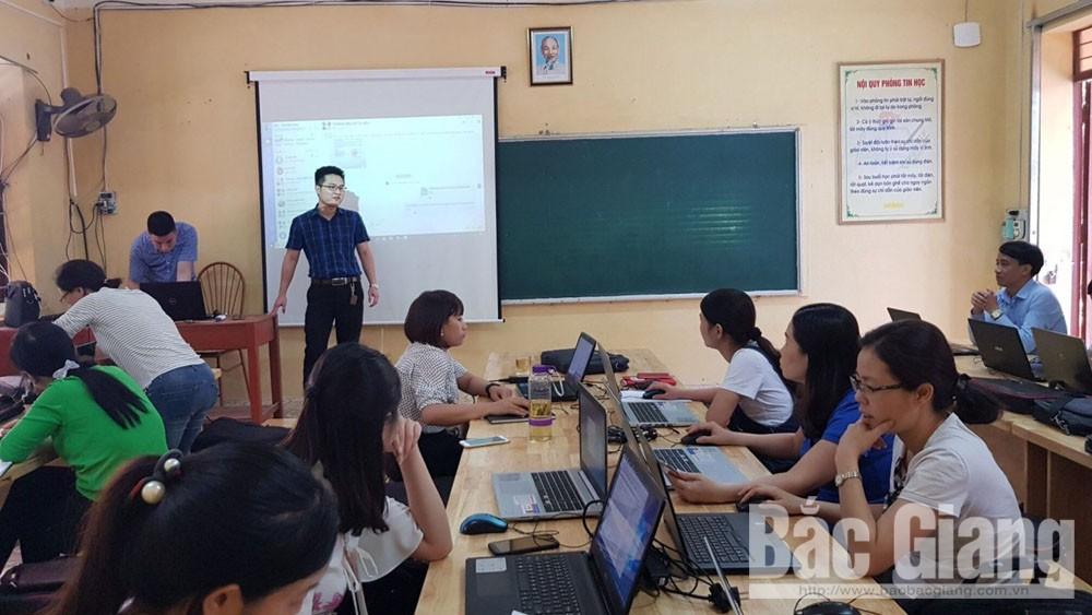 """VNPT Bắc Giang,  ứng dụng, hệ thống dạy học, trực tuyến , VNPT E-Learning, """"VNPT Meeting"""""""