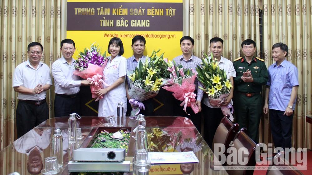Trung tâm kiểm soát bệnh tật tỉnh bắc giang, dịch covid-19, Phó Chủ tịch UBND tỉnh Lê Ánh Dương