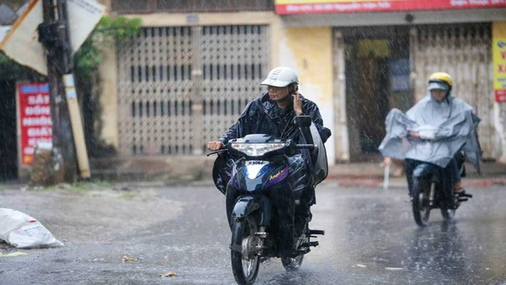 Vùng núi phía Bắc, mưa to đến rất to, dông lốc, mưa đá, gió giật mạnh, dự báo thời tiết