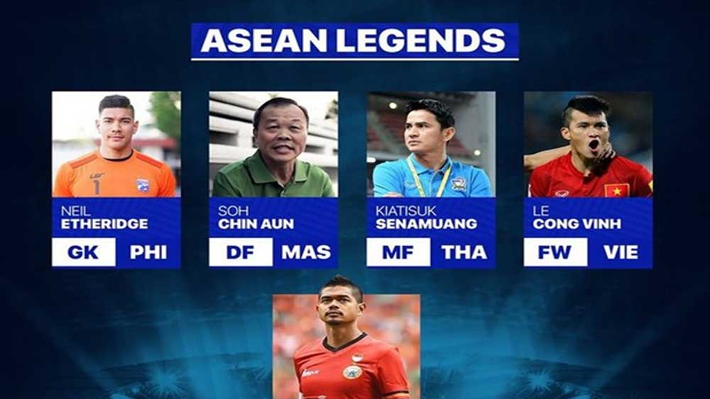 Vietnamese striker, Le Cong Vinh, ASEAN legend, Asian Football Confederation,  Facebook page, Vietnamese national team