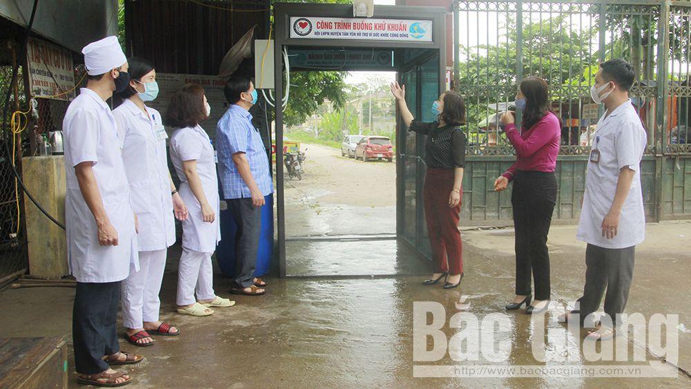 Bắc Giang, phòng chống dịch Covid-19, Tân Yên